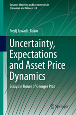 Uncertainty, Expectations and Asset Price Dynamics